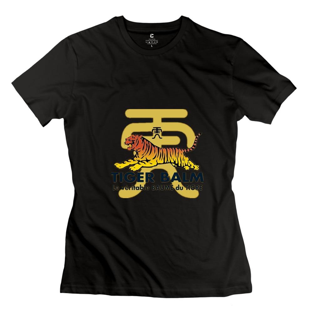 2015 Perfect Tiger Balm Women T Shirt 100 Cotton Best