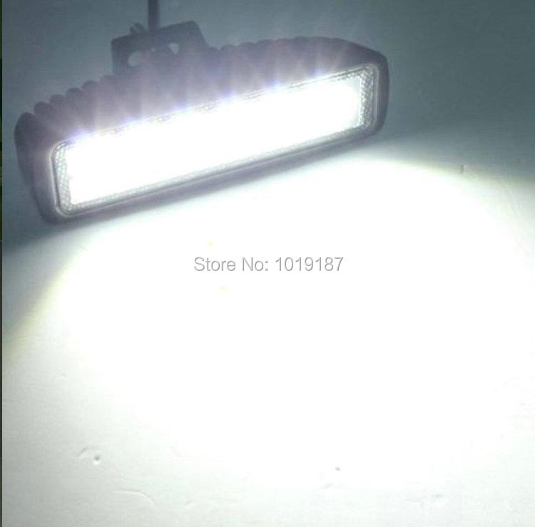 Led Lights For Tractor Trailers : W v led work light spot flood beam lamp for