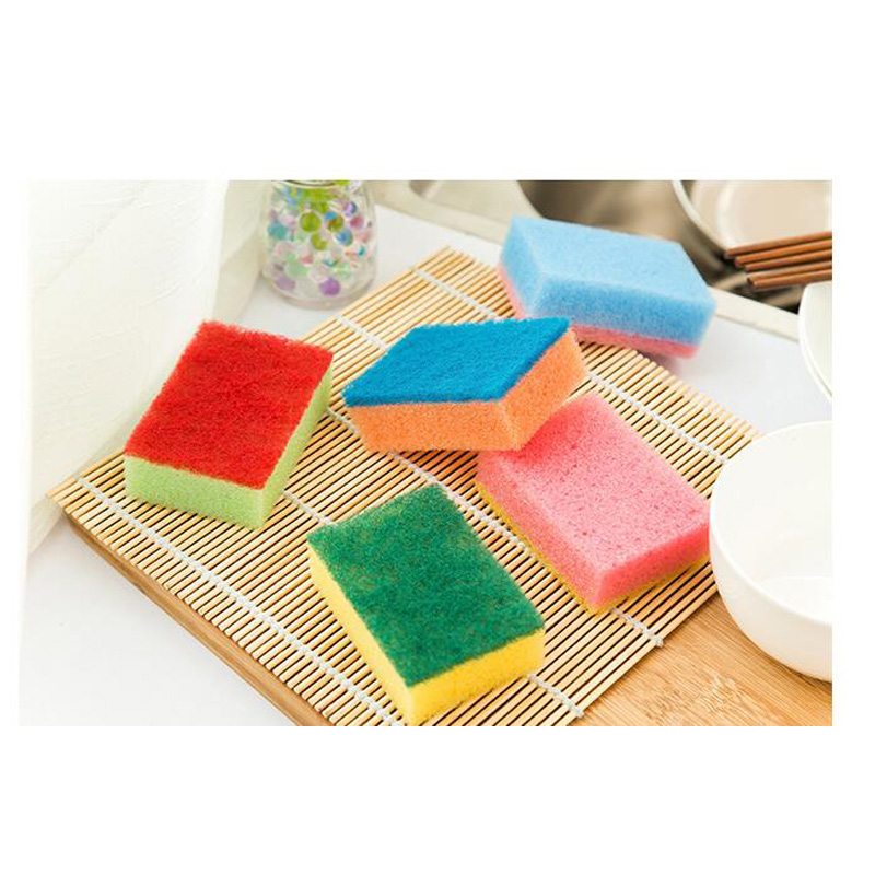 2016 Hot sale Colorful Nano Magic rub Cleaning sponge Dishwashing brush Super cleane 8.5x5.5x3cm 50pc DM-19(China (Mainland))