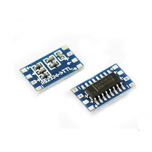 15944 Free shipping NewMini RS232 MAX3232 Level to TTL Level Board 115200bps Converter Adaptor Module