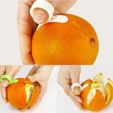 1pcs Kitchen Gadgets Cooking Tools Peeler Parer Finger Type Open Orange Peel Orange Device(China (Mainland))