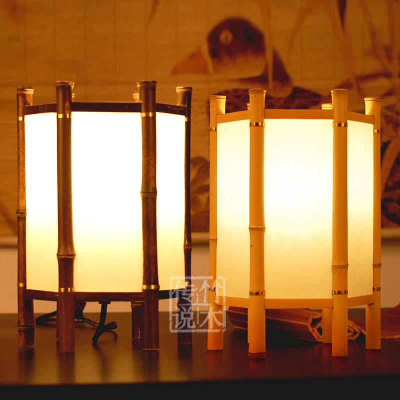 2013 reci n llegado de estilo japon s l mpara de mesa de - Lamparas estilo japones ...
