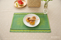 Eco friendly Cotton Placemat Plain Fabric Dining Table Mats Rugs Table Pad Coaster Table Decoration Kitchen