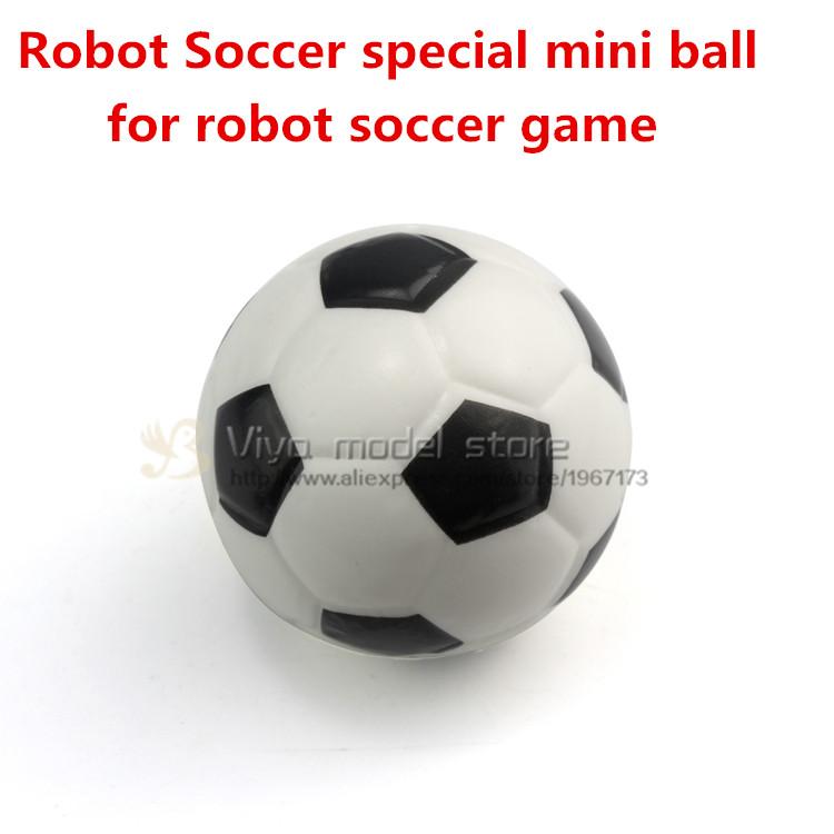 Soccer Robot special mini ball for robot soccer game diameter 63mm x 6 pcs(China (Mainland))