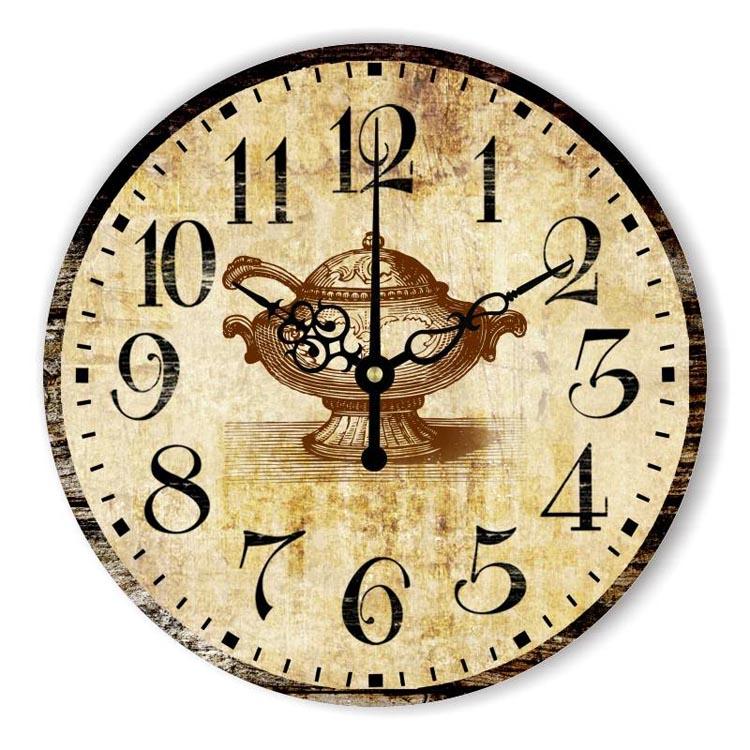 Horloge canard promotion achetez des horloge canard for Grande horloge murale moderne