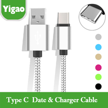 Buy YGONLINE USB Type C cable USB Data Sync Charge Cable Huawei p9 OnePlus 2 ZUK Z1 Z2 NEXUS 5X 6P Fast Charge Cables for $1.18 in AliExpress store
