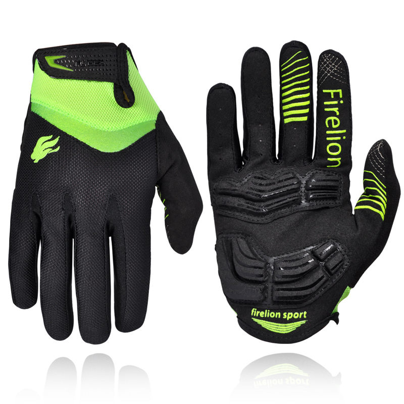 2016 Gel Pad Cycling Gloves Full Finger Touch Screen for Men Women Mountain Dirt Bike Bicycle Gloves Off Road Downhill Gloves(China (Mainland))