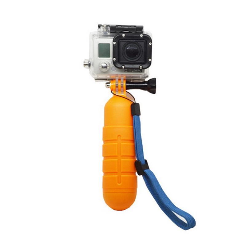 Orbmart Non-slip Bobber Floating Handheld Selfie Stick Gopro Hero 4 3+ 3 2 1 SJCAM SJ4000 SJ6000 Xiaomi Yi Sport Camera - store