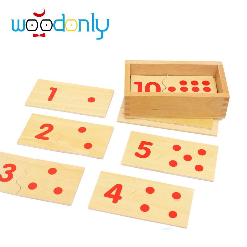 Hot Sale New Teaching Math Mathematics Number Wood Board Puzzle Montessori Educational Wooden Toys Kids Gift oyuncak(China (Mainland))