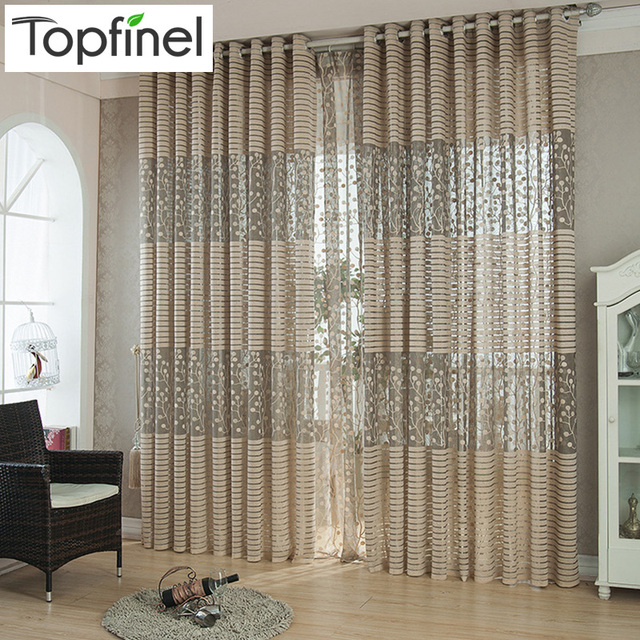 Vorhange Fur Wohnzimmer : Aliexpress top finel streifen moderne luxus fenster vorhänge