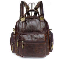 5Pcs/Lot Vintage Leather Womens Backpack