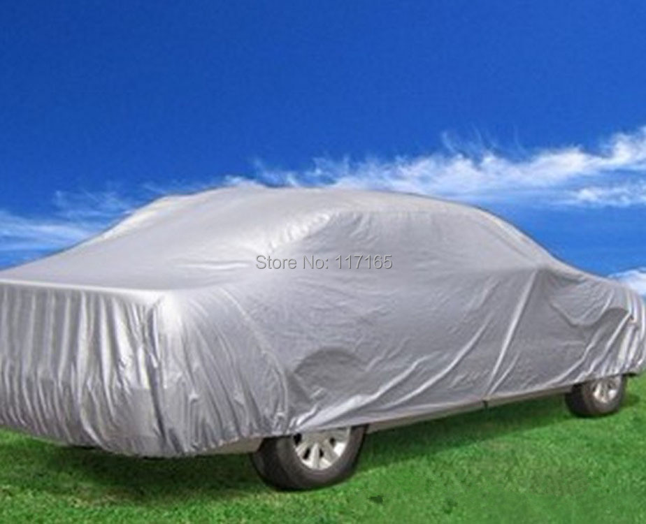 S-XXL Car Silver Covers Fits Jeep Audi A4 Lexus Jetta and so on ,High Quality Sunshield for Small Medium Big Car,Free Shipping(China (Mainland))