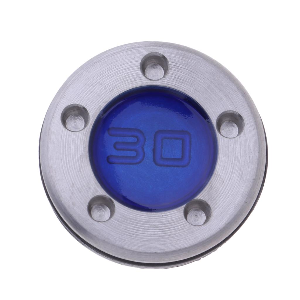 Golf Custom Putter Weights 25/30/35g Tungsten Steel Weight Screws Blue Red Black
