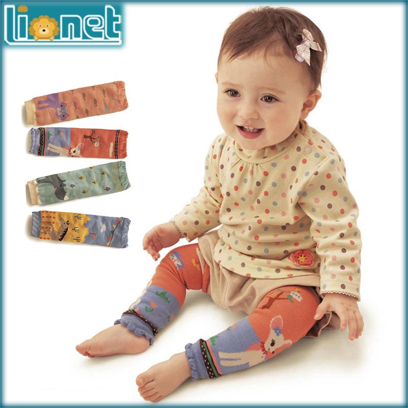 4Pair/lot 0-5 Year Brand Baby Warm Animal Lmage Knee Pads Cotton Cartoon children Kids Leg Warmers Anti-mosquito Boy Girls Socks