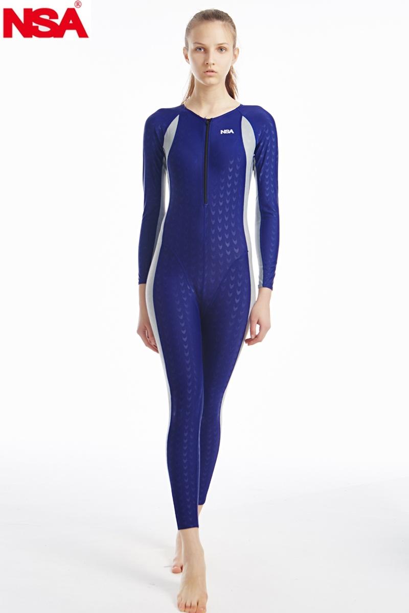 NSA unique design full body lycra swimwear sharkskin waterproof mens bodysuit swimming wetsuits diving suit(China (Mainland))
