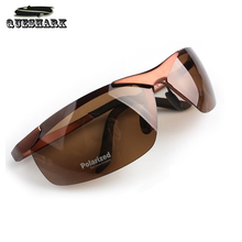 Buy Men's Polarized Cycling Sunglasses Driving Outdoor sports Eyewear Cool Cycling Glasses Half Frame Lens Ultra Lightweight for $9.69 in AliExpress store