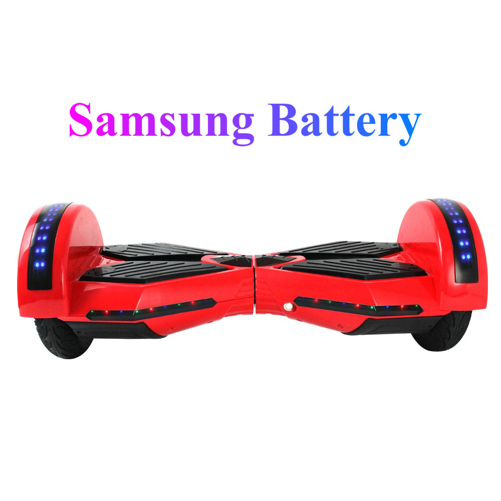 8 inch electric self balancing scooter two wheel smart scooter hoverboard skateboard with. Black Bedroom Furniture Sets. Home Design Ideas