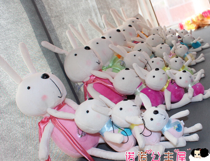 20CM cute little bunny plush toys many colors free shipping factory wholesale special Christmas gift purchases<br><br>Aliexpress