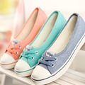 Women Shoes Ballet Flats Loafers Casual Breathable Women Flats Slip On Fashion 2016 Canvas Flats Shoes