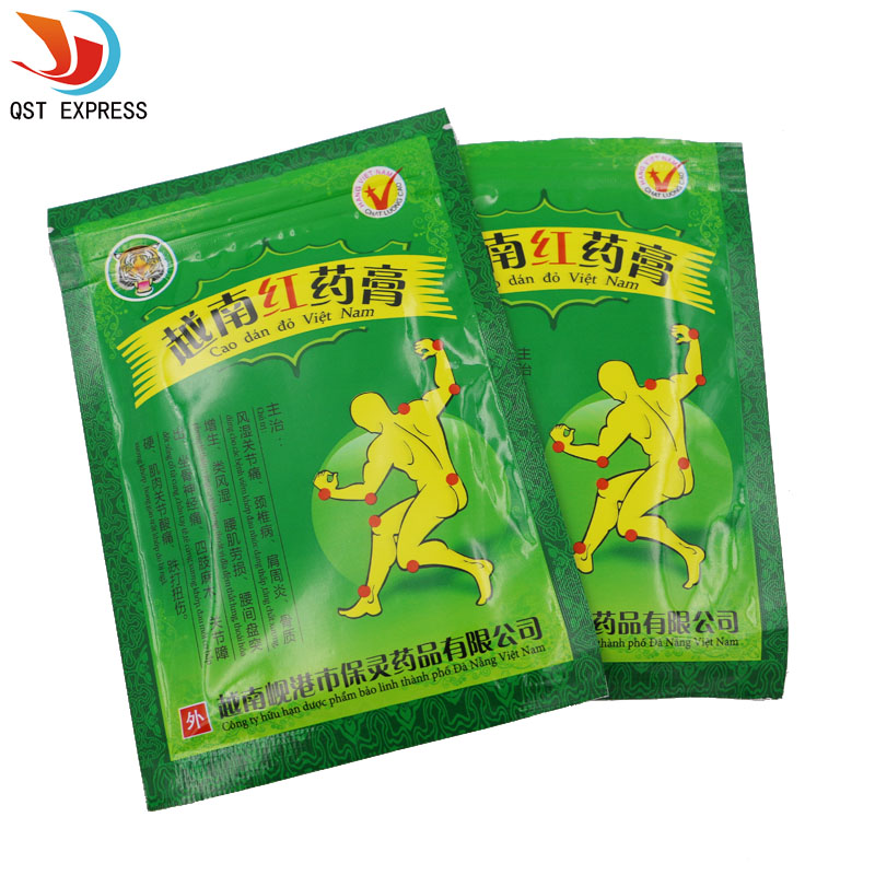 Vietnam Red Tiger Balm Patch Plaster Muscular Pain Stiff Shoulders Pain Relieving 16pcs(China (Mainland))