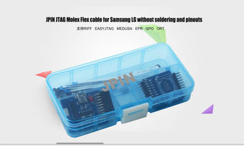JPIN 35 in1+ISP EMMC ADAPTER 3 IN 1 for Samsumg LG without welding pinouts work with RIFF ORT GPG MEDUSA Z3XJTAG  free shipping