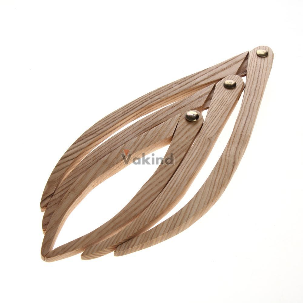 V1NF 3 Pcs Wooden Calipers Pottery Clay Ceramic Measuring Tools 8 10 12 inches<br><br>Aliexpress