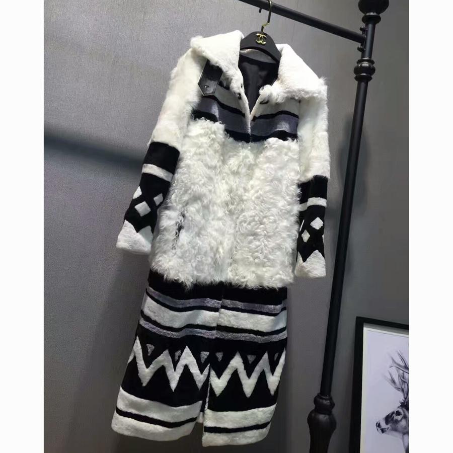 Natural Sheepskin Fur Coat Women Jacket Real Clothing Female Shearling Genuine Overcoat - Renix Industrial Co., Ltd store