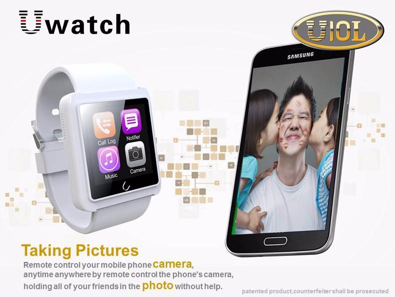 ถูก Uนาฬิกาบลูทูธsmart watch u10lนาฬิกาข้อมือชีวิตกันน้ำs mart w atchสำหรับios a ndriodมาร์ทโฟนpedometerหลายสี2016