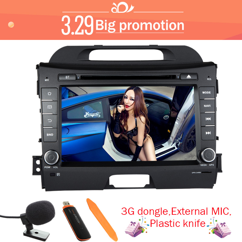 Quad core KIA sportage r/Sportage 2010 2011 2012 2013 2014 dash pure android 4.4 car dvd gps player 2 din 8 inch video - Zhoon Car DVD CO.,LIMITED store