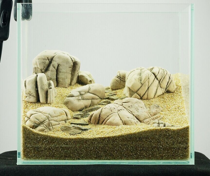 ADA style Aquarium Rock Model A-2 free shipping(China (Mainland))