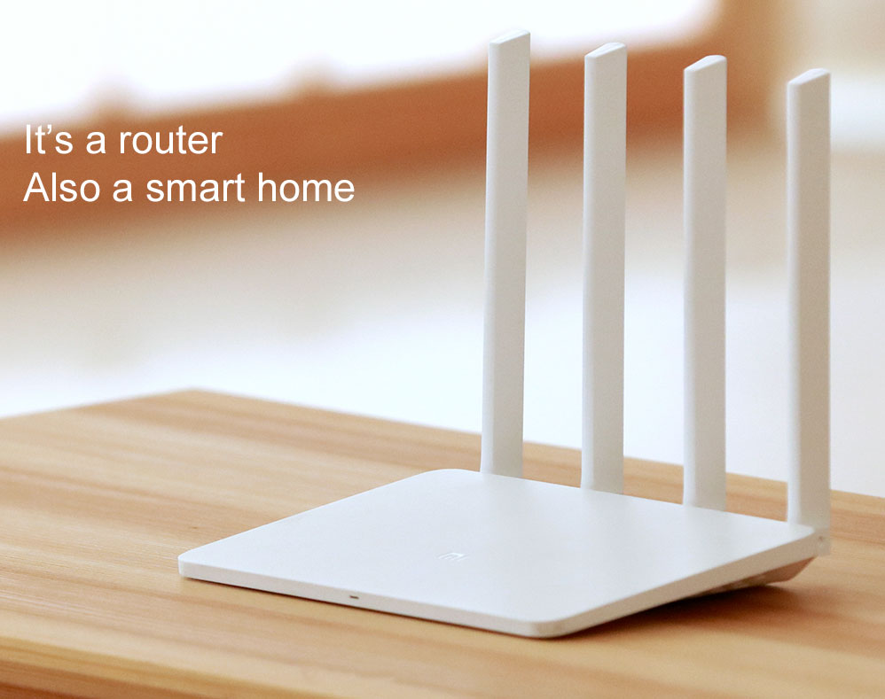 Latest Original XiaoMi Router 3 128G ROM Processor MT7620A WiFi Wireless Support Windows Android IOS 2.4GHZ/5GHZ APP Control