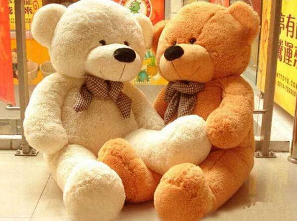 200cm genuine big teddy bear hug bear plush toys Christmas Valentine's Day gift birthday gift toys(China (Mainland))