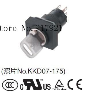 [ZOB] AR16JT Japan Fuji fuji key selector switch AR16JS waterproof key switch AR16JR imports --10pcs/lot<br><br>Aliexpress