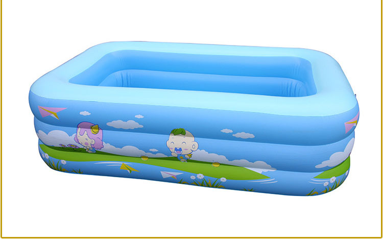 Big square inflatable baby swimming pool for sale 225x145x60cm in swimming pool from mother Square swimming pools for sale