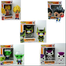 Funko Mini Anime Dragonball Son Goku Piccolo Vegeta Freeza Shahrukh PVC Vinyl Action Figure Model Collection PVC Children toys