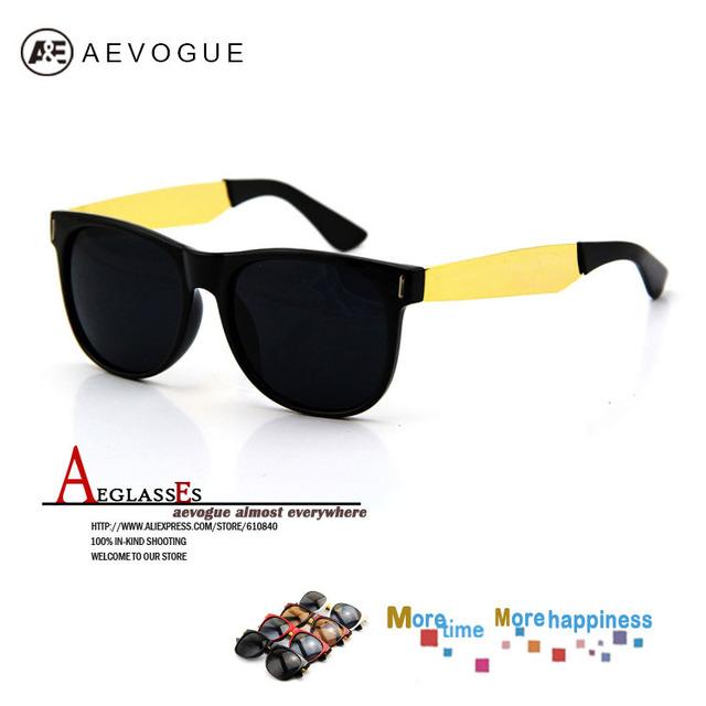 Aevogue ретро дизайнер солнечные очки мужчины супер солнцезащитные очки óculos / gafas-де-сол CE DT0069