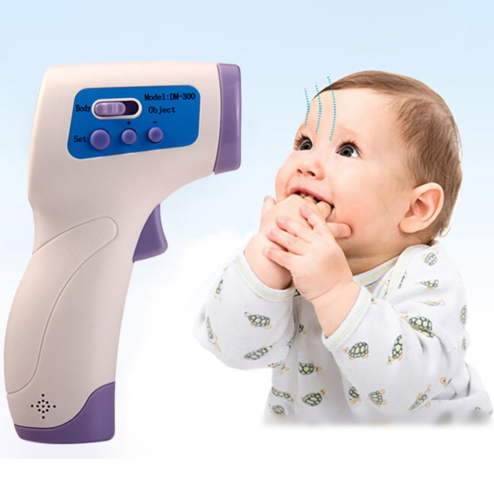 Excellent!! NEW Baby/Adult Digital Multi-Function Non-contact Infrared Forehead Body Thermometer gun Three-color Backlight(China (Mainland))