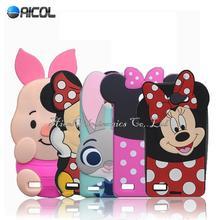 3D Cartoon Mickey Minnie Mouse Rabbit Case LG Max X155 / L Bello II 2 Prime Soft Cute Cover - Aicol Electornics Co,.Ltd store