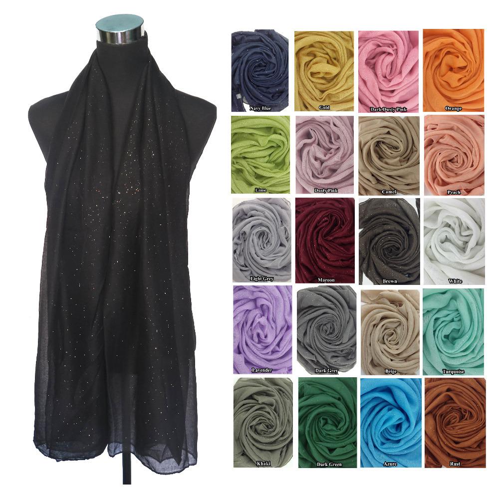 Glitter Bling Bling Scarf Women's Scarf Muslim Hijab Shawl Head Wrap, Free Shipping(China (Mainland))