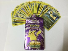 100Pcs=4Pack Pokemon Card XY Roaring Skies And Ancient English Version Exquisite Gift Box Packing Collection Card Toy(China (Mainland))
