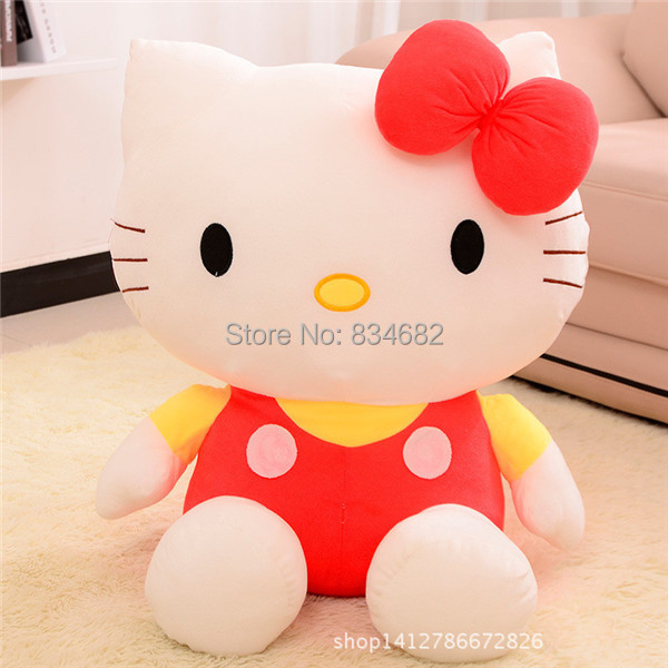 J.G Chen Baby Toy 20cm Plush Toys Cat the Hello Kitty For Children Kids Girls Toys Stuffed Animals Anime Soft Toy Doll 3 Colors(China (Mainland))