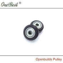 3D Printer Accessories Plastic pulley Openbuilds Passive Pulley Perlin Wheel 625Z POM Big wheels with bearings