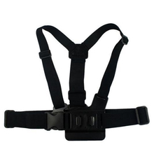 Action camera Go Pro Accessories Harness Adjustable Elastic For sport cam  Chest Belt Strap for GoPro Hero4 3 + sj4000 Xiaomi yi