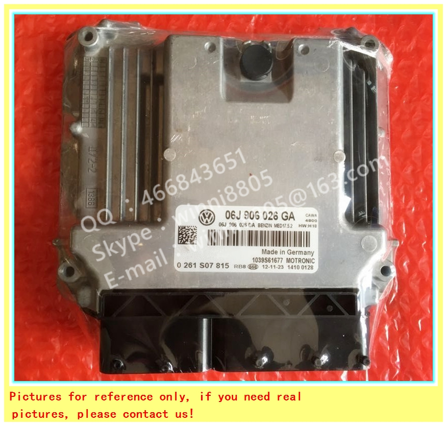 For Audi Volkswagen Passat Touran CC car engine computer board/ECU/ Electronic Control Unit/Car PC/ 06J906026GA 0261S07815(China (Mainland))