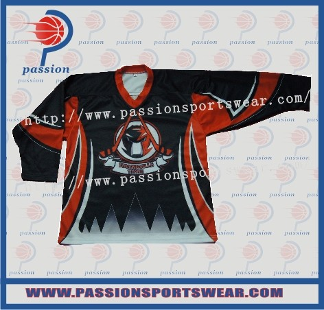 High quality custom design team ice hockey jersey wear(China (Mainland))