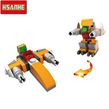 HSANHE GUNDAM,marvel legon city blocks magformers playmobil enlighten decool duplo castle forge world construction sluban Toys