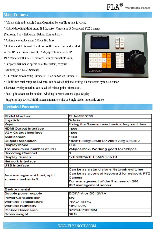 Ip декодер 3 D контроллер клавиатуры 2 цифровое управление клавиатурой 9 экран NVS Q