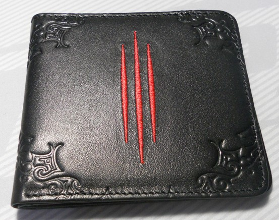Game wallet Dia 3 / The Horde Logo Genuine Leather purses Jinx Gamers Collection for gift free shipping<br><br>Aliexpress