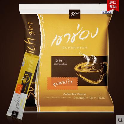 Thailand well known brand of coffee HighBrand Solid coffee 20 g 30 A small bag 600