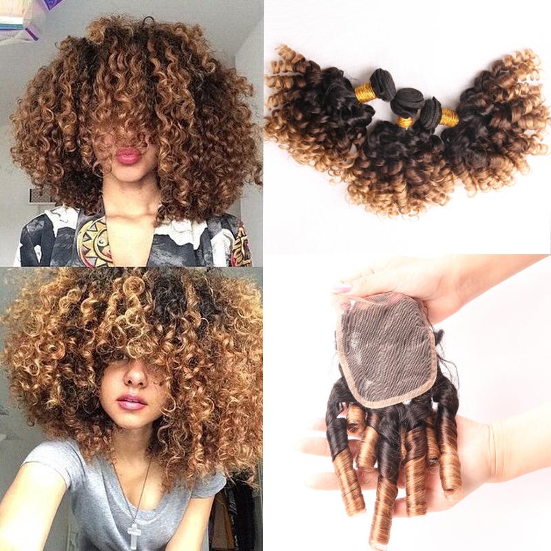 Гаджет  2015 Aliexpress Brazilian Jerry Curly Virgin Hair With Closure 3pcs Brazilian Hair Weave Bundles With Lace Frontal Closure ZW113 None Волосы и аксессуары